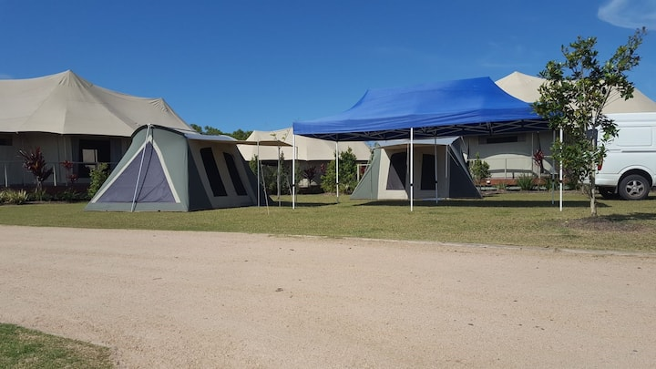 Tent Camping at your Sunshine Coast location