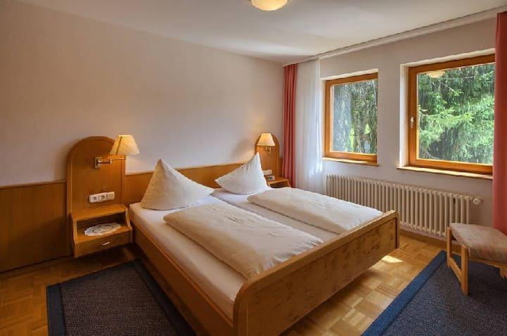 Pappelhof, (Bad Bellingen), Ferienwohnung 4, 52qm, 1 Schlafzimmer, max. 3 Personen