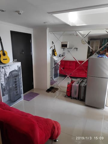 Spacious 1BR apartment at West Jakarta