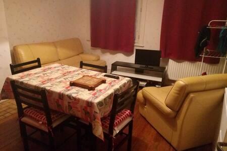 Chambre privée proche du centre ville - Cambrai - Flat