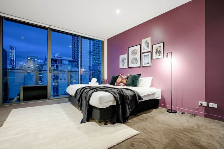 2410 Admire Views from a Stylish Studio Apartment