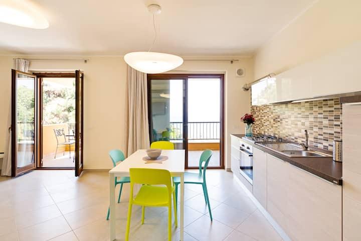 Taormina Calipso Seaview Flat PRIVATE PARKING