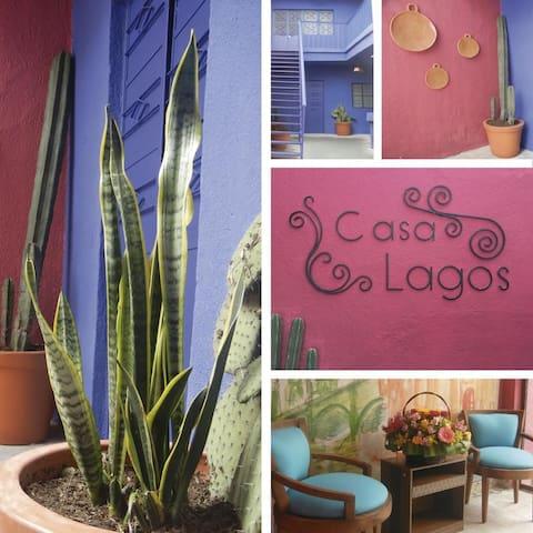 Habitacion privada CASA LAGOS  en pleno centro