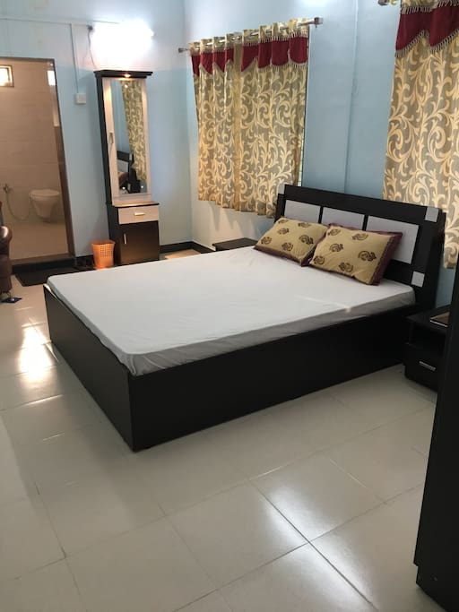 No 1 bed room with double bed