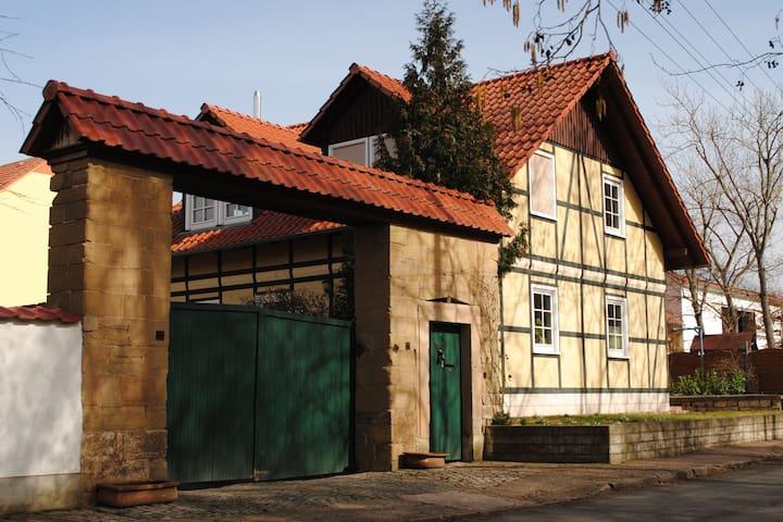 """Ferienwohnung """"An der Gramme"""" in Niederzimmern - Niederzimmern - Leilighet"""