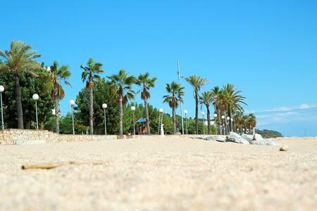 T042 Bonito apartamento a 1 minuto de la playa - Canet de Mar
