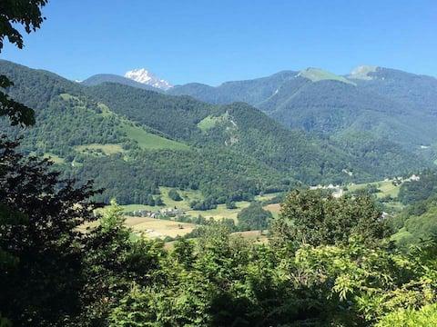 Casa no coração dos Pirinéus com vista Pic du Midi