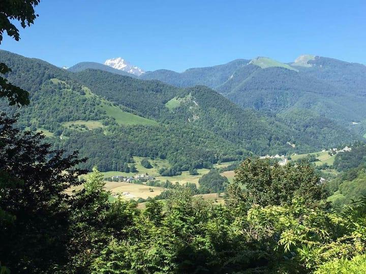 Maison au cœur des Pyrénées avec Vue Pic du Midi