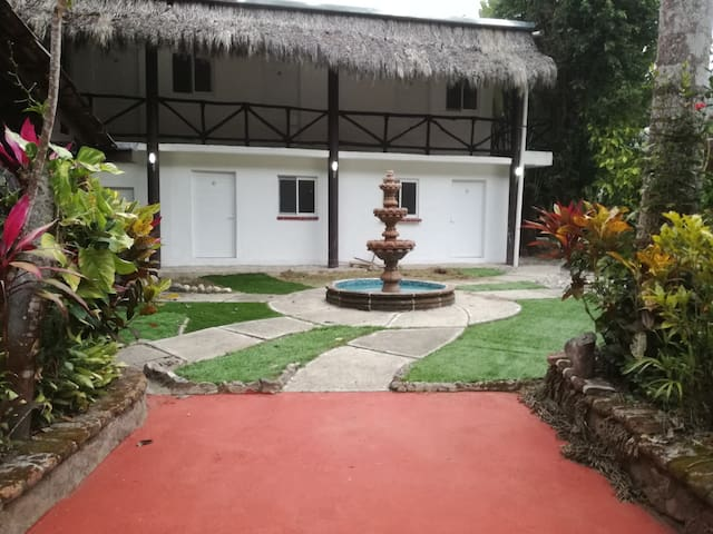 Lodge in the jungle of Pto Vallarta near beach.
