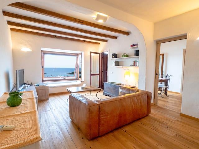 Appartamento vista mare Coda Cavallo - Punta EST