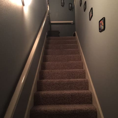 Feel like home Apt atop 3car garage - Lubbock - Apartamento