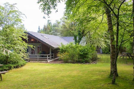 Chalet met grote tuin nabij Durbuy en Barvaux (4p) - Durbuy - Дом