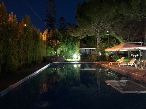 Villa con piscina in Tonnara di Palmi