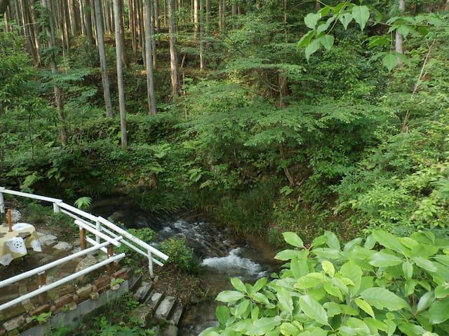 大自然の中の素敵な1軒や - Shinshiro-shi - Rumah