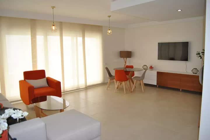 Captingis Luxury apartment tangeir hills sea view