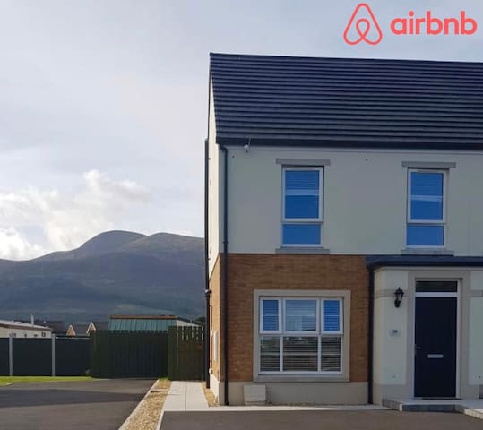 Brand new semi detached house in Newcastle Co.Down
