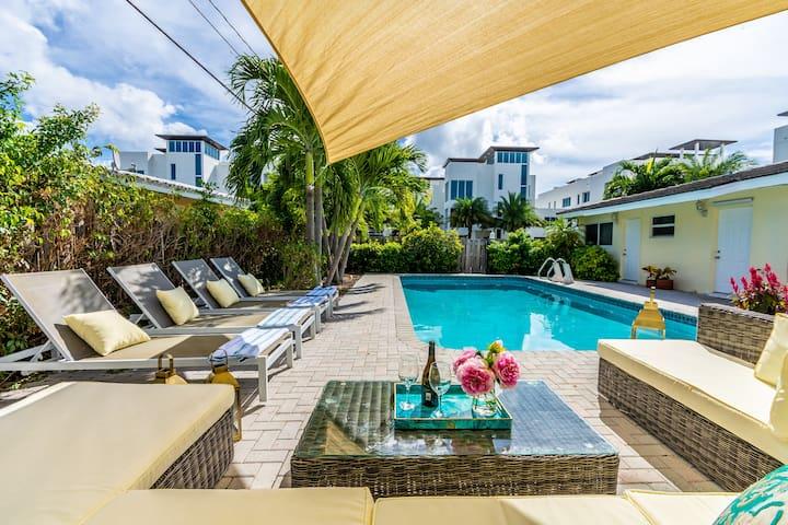 Lauderdale-by-the-Sea BeachHouse 5BR WALKtoBEACH
