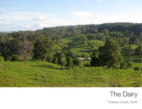 Eco Dairy cabin at Theresa Creek