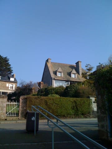 Big appartment for 4 P sea view, beach access - St-Malo - Appartement