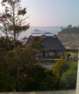 Nice Room in a villa with Sea View - St-Malo