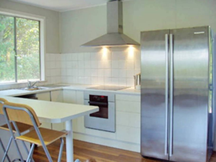 Renovated kitchen with European applicances