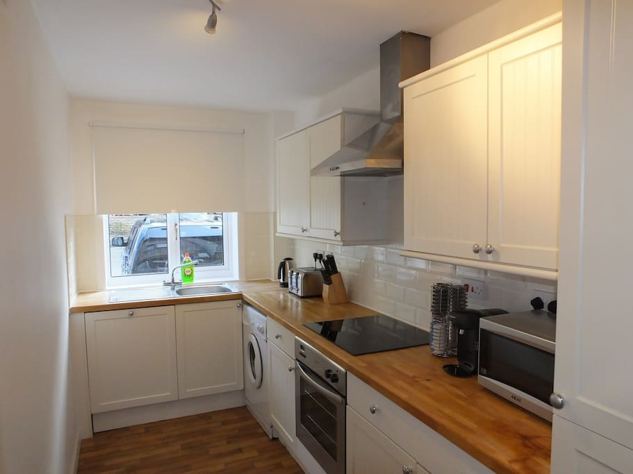 Fully equipped kitchen (with dishwasher)