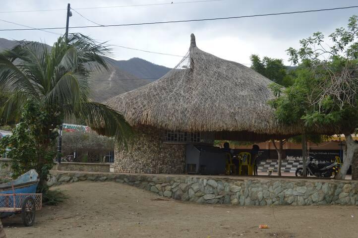 Restaurante típico de Taganga