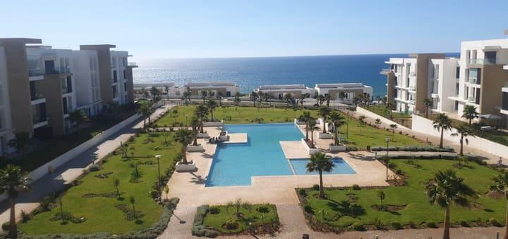 Plage des Nations - Rabat Appart F3 vue sur mer