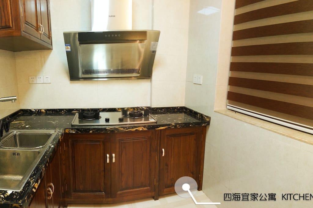 有需要房东也可提供微波炉以及餐具(FREE)