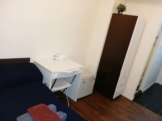 Studio for 2 in Kowloon