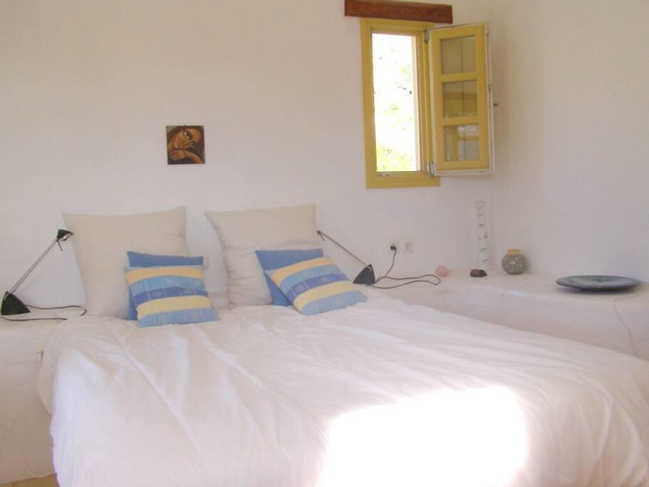 the big bedroom