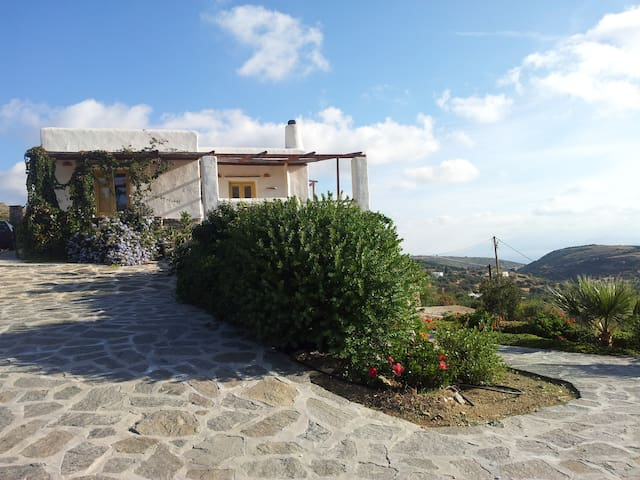 beautiful house in the countryside