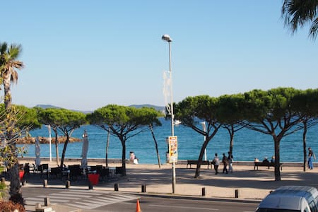 Appartement climatisé vue mer et plage + garage - La Ciotat
