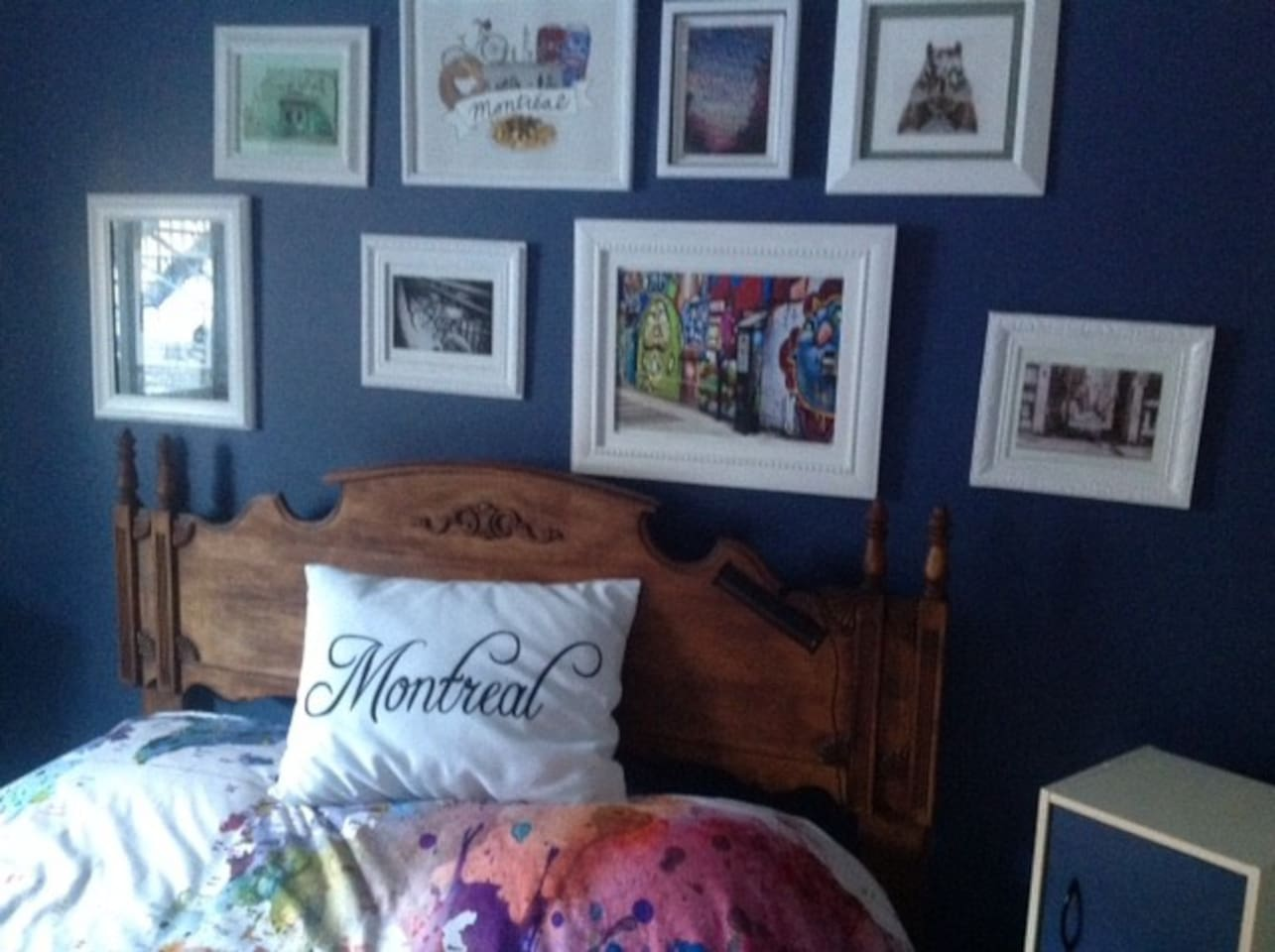 Votre chambre - nouveau décor 2017. Your room redecorated for 2017.