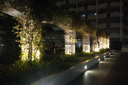 Nice View Tokyo Bay Ryokan style - Minato-ku - Apartment