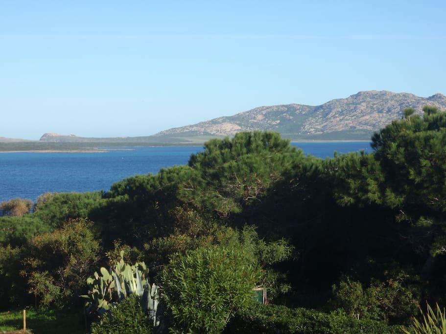 L'incantevole panorama dal nostro terrazzo