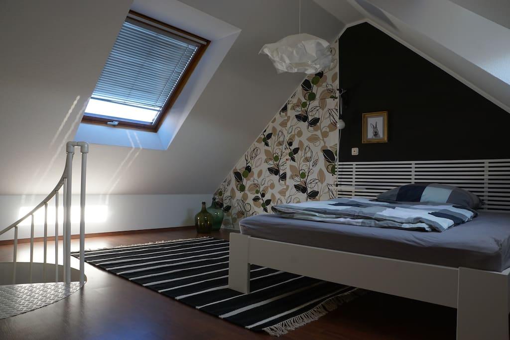 maisonette d 39 haese 63qm 3 min zur a8 m nchen wohnungen. Black Bedroom Furniture Sets. Home Design Ideas
