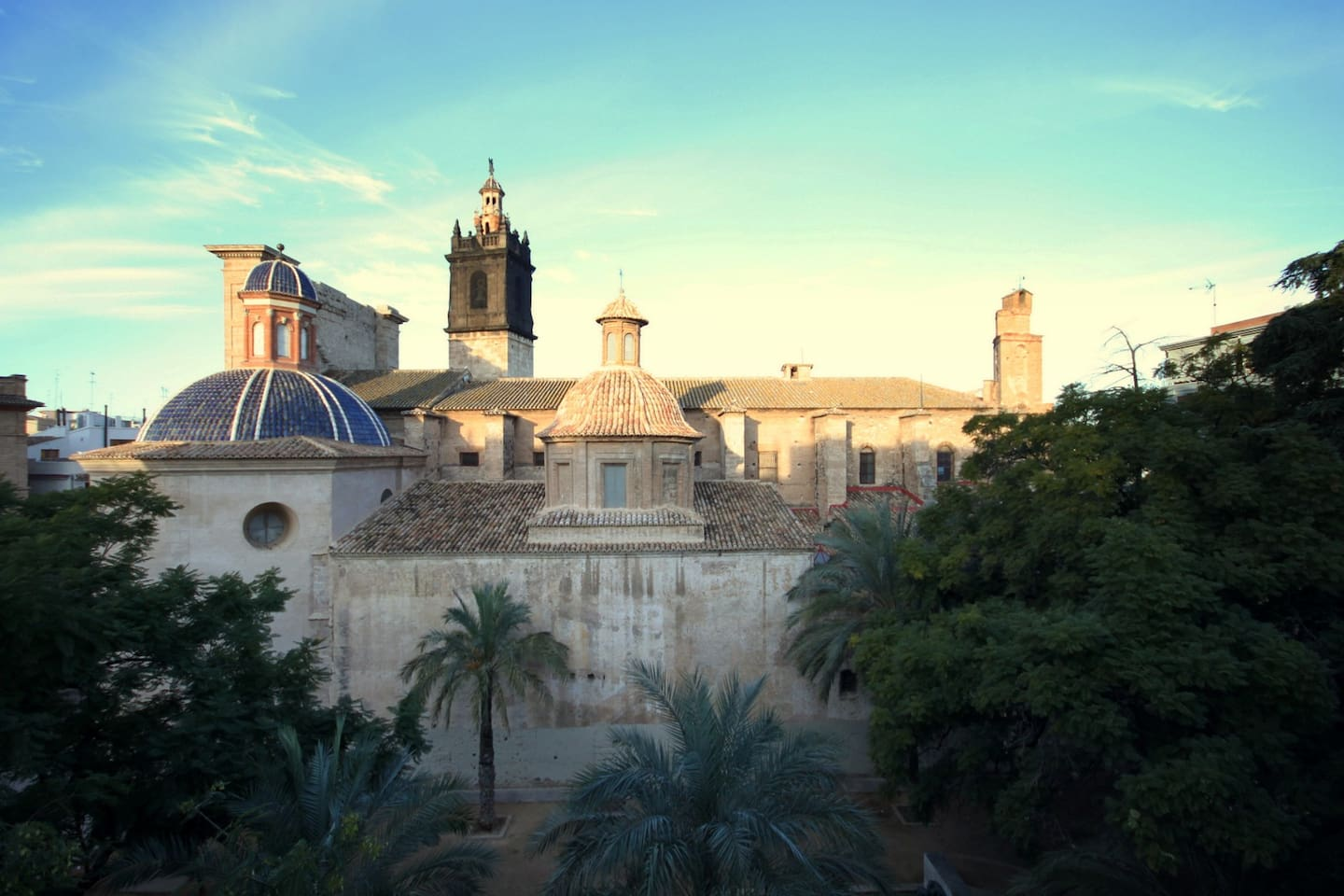 Nice view to the Carmen Church square