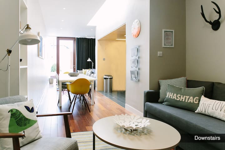 Contemporary living in historic area, mins to city