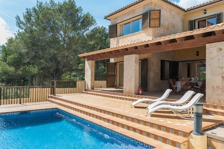 Lluna - lovely villa with private pool - Capdepera - Huis