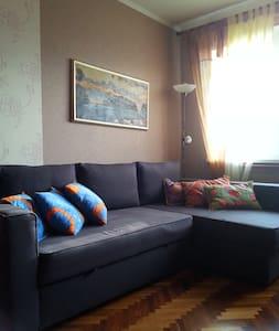 Cheap & cozy 1/2 BD feel like home - San Pietroburgo - Bed & Breakfast