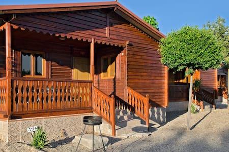 Cabaña de madera para 4 personas - House