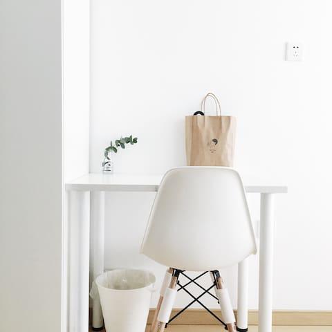 【好白】天河区 超实惠 万科云城米酷 独套公寓 全白北欧风 宜家小清新