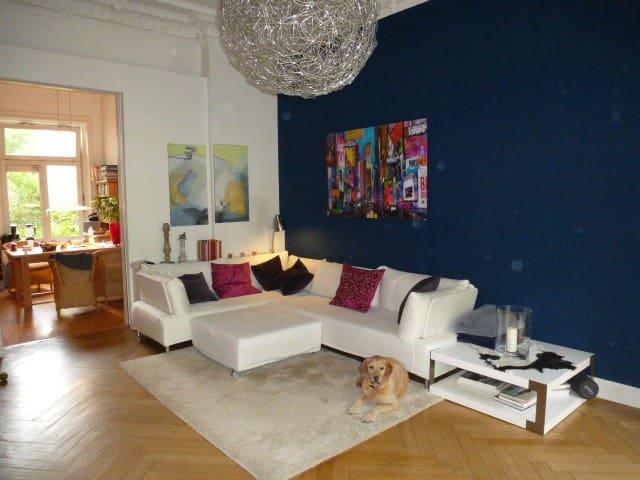 fantastische Altbauwohnung im Herzen von Hamburg - Amburgo - Appartamento