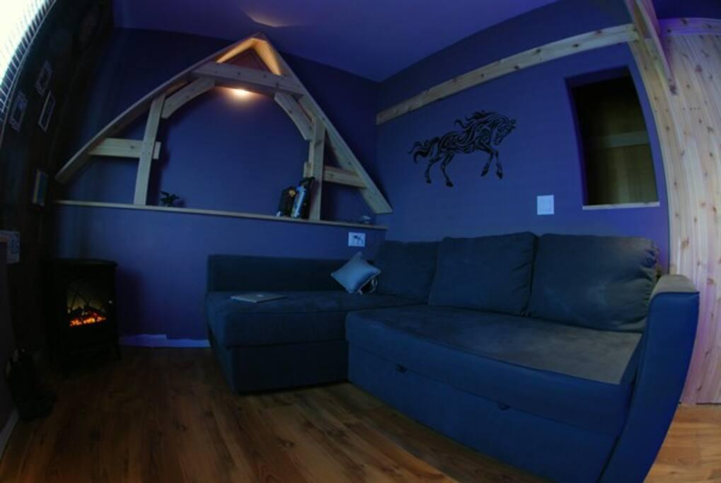 Artsy house in central Calgary