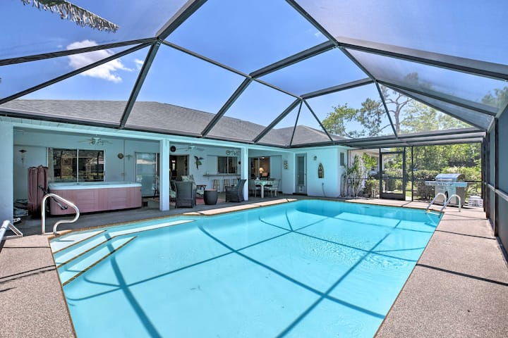Cape Coral Home with Gulf & Dock Access