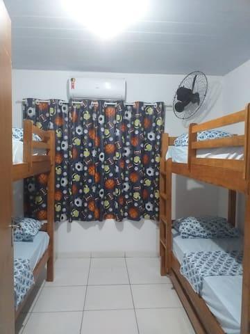 Hostel/albergue aconchego de mainha.