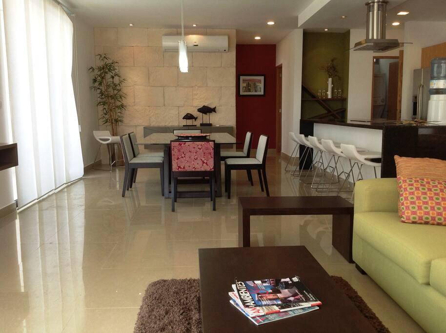 Spacious 2 bedroom condo with wraparound terrace