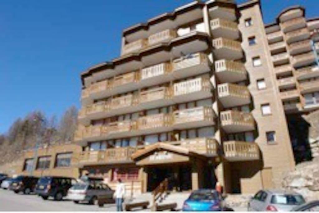 Balcon 3eme étage en angle à droite