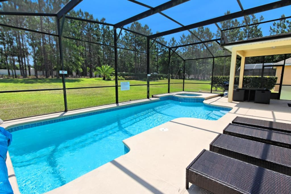 Golf Course Home Private Pool